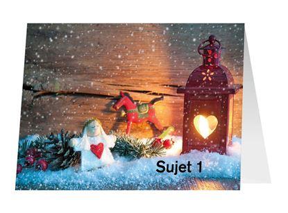 Bild von Weihnachtskarten A5 (Doppelkarte)