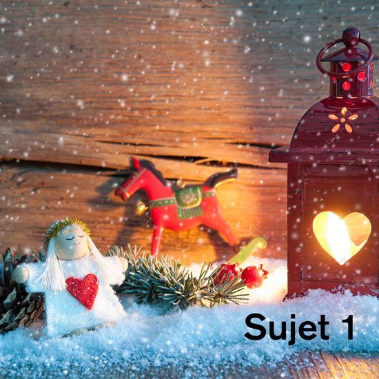 Bild von Weihnachtskarten quadratisch 150 x 150 mm