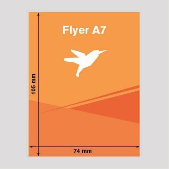 Bild von Flyer DIN-A7