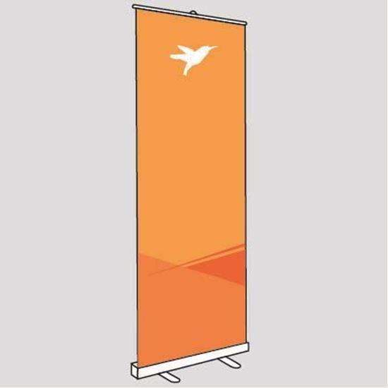Bild von RollUp-Display Classic, 85 x 220/200 cm, die einfache Lösung