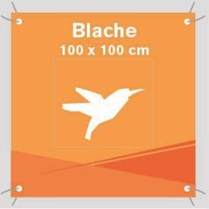Bild von Blache, 100 x 100 cm