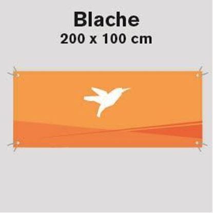 Bild von Blache, 200 x 100 cm