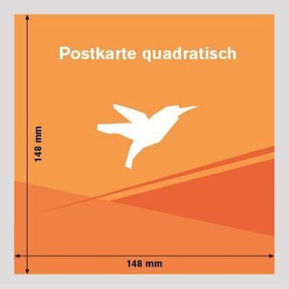 Bild von Postkarte Quadratisch